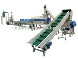 waste PP/PE plastic film washing and recycling line