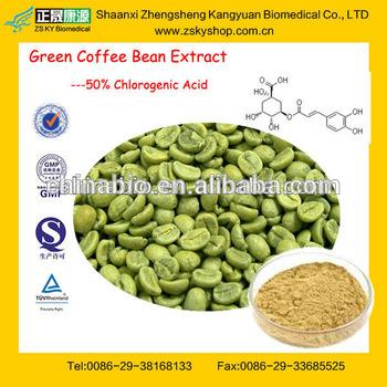 puro caffè verde estratto di fagiolo