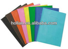 High Quality Colorful Office PVC Book Cover