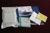 Basic medical dressing set(paper-plastics compound bag)
