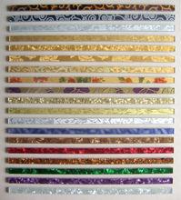 Golden color Glass Border