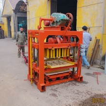 QT4-40 Block making machines manufactures, Manual concrete block machine