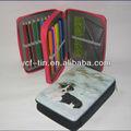 Bela escola estacionária set com zipper / estacionário caixa de lápis para crianças