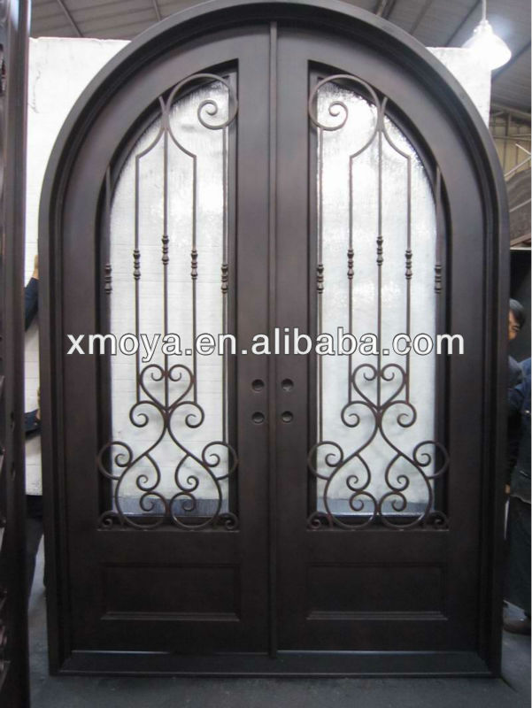 Iron main entrance doors grill designs steel grill door Main entrance door grill