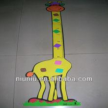 Cute Giraffe EVA Foam Baby ruler