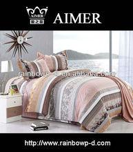 print cheap flower printed flat sheet for bed sheet/trade assurance supplier