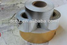 aluminum foil laminated cardboard,pet coated metallic cardboard,gold silver cardboard