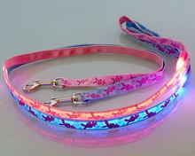 High brightness&quality led light pet collar leash
