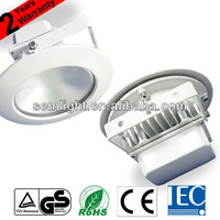 AC85-265V TUV CE RoHS IEC Approved 10W Dimmable COB LED Ceiling Light Fitting