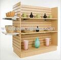 Exposição de madeira stand, exposição de madeira rack, exposição de madeira