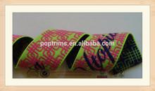 2014 fashion trimming high quality garment nylon jacquard elastic band