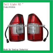 #001614 auto spare parts Isuzu D-Max 2002 tail lights tail lamps for d-max