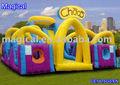 Parcours d'obstacles gonflables aire de jeux pour les enfants