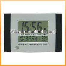 Wall clock LCD Digital Clock moonphase clock