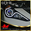 Replacement 2009-2013 Hyundai Sonata Headlight with LED Angel Eye V2