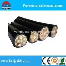 power cable sizes Low voltage High voltage xlpe cable 4core 5core copper aluminum standard power cable sizes Factory standard