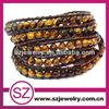 wholesale fashion Leather wrap bracelet