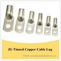 de alta calidad jg cable de cobre estañado terminal