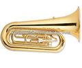 De latón de marcha tuba, marching band instruments