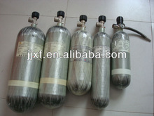 2L 3L 6.8L 9L fireman safety small breathing gas cylinder