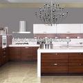 Design superior de madeira e móveis de cozinha, american black walnut ak18