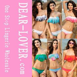 2014 New Arrival Sexy Hot Sale Tassel Triangl Swimwear bikini