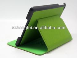 High quality auto sleep/wake function book type leather case for ipad mini