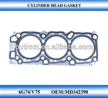 Cylinder head gasket for V75 GASKET FOR 6G74 engine model for Pajero ,Debonair , Diamante,