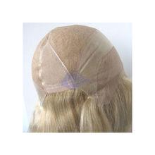 Fine welded mono human hair full lace wig