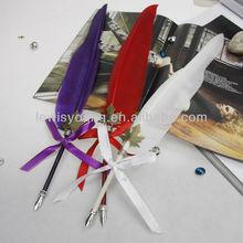 promotional feather pen,Feather dip pen dip pen ink pen