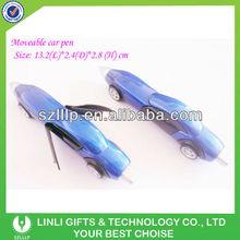 plastic novelty car shaped pen for promotion