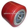 Polyurethane on Cast Iorn roller for forklift