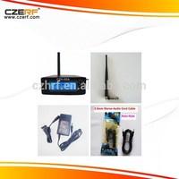 CZH-05A 0.5W Black Wireless FM Transmitter Modulator