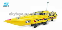 !1:12 R/C boat gas rc boats for sale Radio Control toys rc fiberglass boat hull