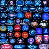 hot selling! 12V 3W car led logo lights, lighting car emblem