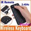 iPazzPort 2.4GHz Mini ps3 Wireless Keyboard with IR Remote