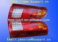 alta qualidade lâmpada traseira de ônibus ônibus luz conduzida da cauda