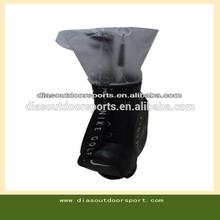 Waterproof plastic golf bag rain cover