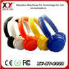Colorful Hot Sell for Promotion Sport Earphones Retractable Earphones Earbuds for iphone mobilephone mp3