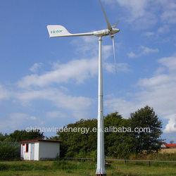 5kW wind turbine generator green power for telecom station