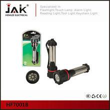 JAK portable 9 LED waterproof torch