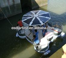 65W high efficiency ETFE semi flexible solar panel for boat,yacht,broastcast system