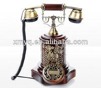 Wooden Antique Caller ID Phone