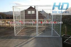 metal dog kennel/hot wire dog fence/1.8x1.2m dog fence