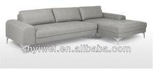 2013 New Model Sofa and Modern Sofa Small Grey Fabric Living Room Corner Sofa