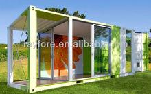 new idea prefab house with glass