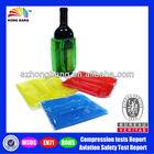 HB742 Plastic wine bottle cooler bags
