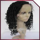 100% human hair afro kinky human hair wig