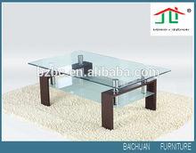 Mdf Legs Coffee Table Glass Coffee Table