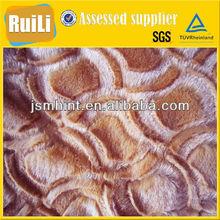 100% polyester garments plush toys cushion blanket brushed pv plush fabric